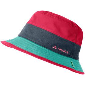 VAUDE Lezza Hat Børn, rød/turkis